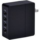 ORICO 4 Ports USB AC Wall Charger [DCA-4U] - Black - Universal Charger Kit